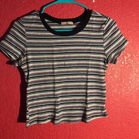 Active USA Tops - Striped top